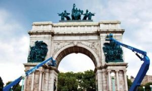 Soldiers and Sailors Memorial Gets a Face-lift