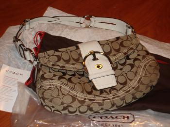 KNOCKOFF PATROL: This photo shows a brand new Coach handbag. Recently Coach, Inc. took the City of Chicago to court due to knockoff Coach products being sold at a city flea market.  (Photo Courtesy of Coach Inc.)