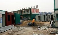 Cargo Shipping Containers Marketed as Homes in Southern China