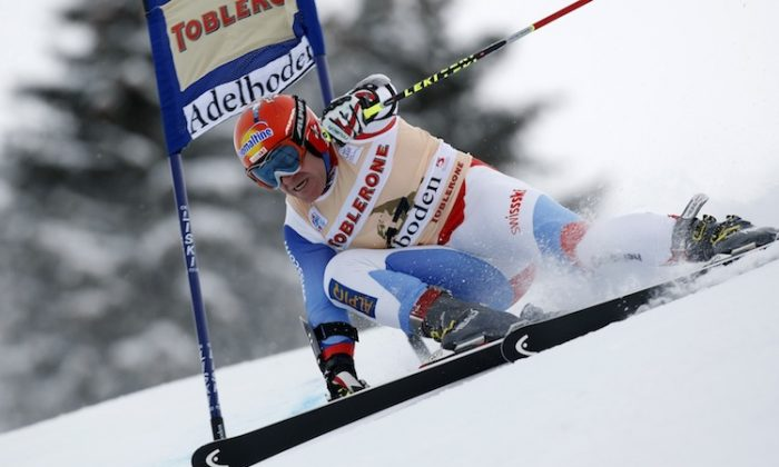 Didier Cuche announced he will retire from competitive skiing at the end of this season. (Alexis Boichard/Agence Zoom)