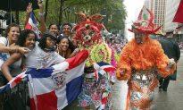Despite Torrential Rain, a Joyful Dominican Day Parade