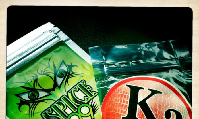 Synthetic marijuana, such as the two packages shown, were banned on Thursday in New York City and state by the city and state Health Departments. (Drug Enforcement Agency)