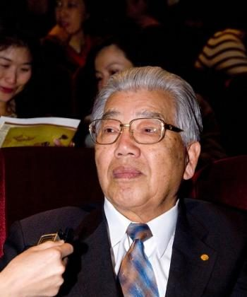 Mr. You, former CEO of Evergreen Foundation in Taiwan.  (Tang Bin/The Epoch Times)