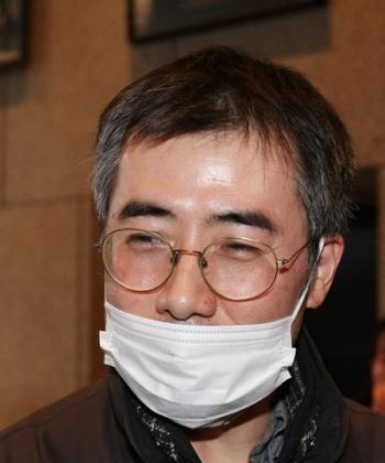 Mr. Chai, heir to a Japanese temple. (Ming Li/The Epoch Times)