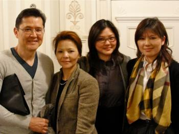 Dr. Ahkye Wong came to see Shen Yun Performing Arts with his wife and two daughters. (Louis Makiello/The Epoch Times)