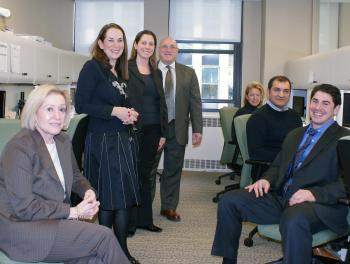 Part of the Elaine Clayman Group, specialists working toward a common goal. (Charlotte Cuthbertson/The Epoch Times)