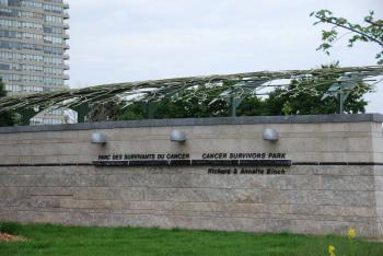 """Gateway to one of the """"walks"""" in the Ottawa Cancer Survivors Park. (Pam McLennan, The Epoch Times)"""
