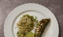 Grilled Mackerel with Lemon, Chilli and Thyme