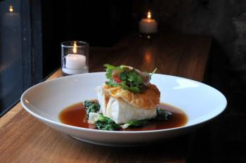 The snapper, one of the signature dishes (Minguo/The Epoch Times)