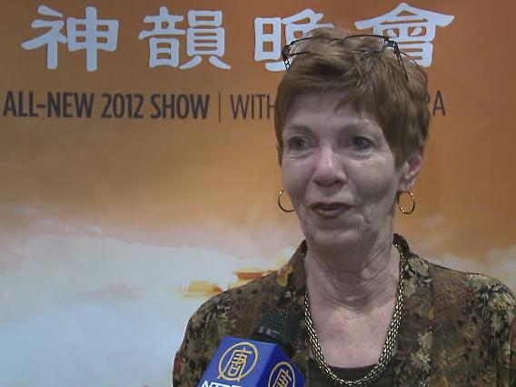 Judy Derosier at Shen Yun