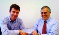 Award-Winning Journalist Donates $10,000 in Prize Money