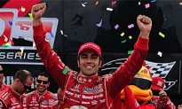 Franchitti Wins Indy Toronto Amid Crashes, Controversy