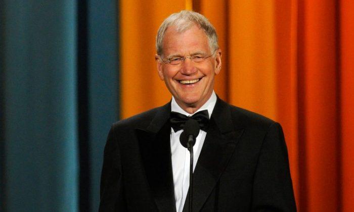 David Letterman (Dimitrios Kambouris/Getty Images)