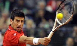 Djokovic, Serbia Dump U.S. Out of Davis Cup