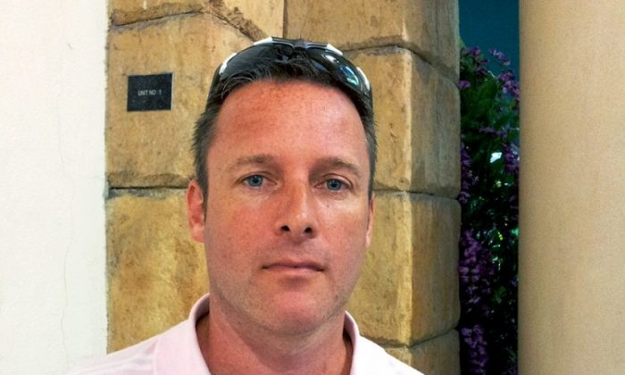 Andy Lamb, Dubai, United Arab Emirates. (The Epoch Times)