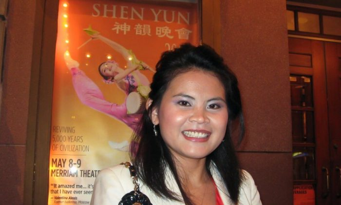 Soben Pim attends Shen Yun Performing Arts at the Merriam Theatre in Philadelphia on May 9.