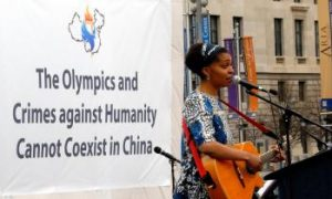 Song Compares Beijing Olympics to Nazi Olympics