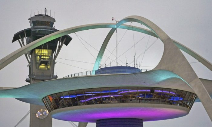 The Los Angeles International Airport (LAX) has offerings that range from the fresh and light Baja Fresh Express, to the regular fast food we all know—like California Pizza Kitchen—to fine dining at old futuristic-looking Encounter Restaurant, located at the heart of the U-shaped terminal. (David McNew/Getty Images)