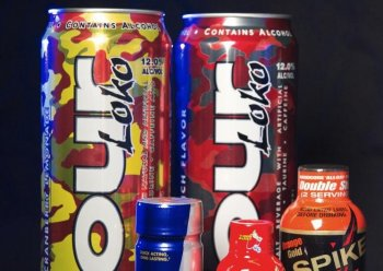 Energy drinks: According to the study, energy drinks are the fastest growing commodity in the U.S. beverage market. (Paul J. Richards/AFP/Getty Images)