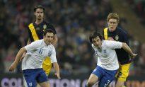 England Claims 2000 International Goal
