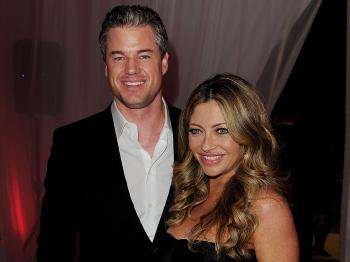 Eric Dane and Rebecca Gayheart (Kevin Winter/Getty Images)