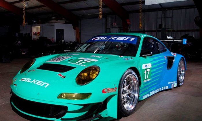 Team Falken Tire used the second Sebring test to dial in their 2012 Porsche and to determine the optimal tire compounds for the Sebring 12 Hours. (Team Falken Tire)