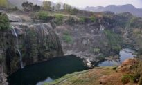 World-Famous Waterfall Drying Up Due to Severe Drought
