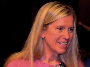 Rebecca Fannin, author of 'Silicon Dragon' and a columnist for Forbes, testified June 30 before the U.S.-China Economic and Security Review Commission, on the Internet and China's dominate search-engine company, Baidu. (Gary Feuerberg/The Epoch Times)