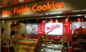 Mrs. Fields Cookie Shop Files Bankruptcy