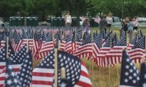 10,000 American Flags in DC Spell 'Freedom From Oil'