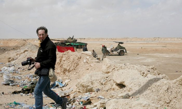 Anton Hammerl in Brega, Libya, a few days before his death. (Unai Aranzadi/Friends of Anton)