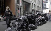 Garbage Pickup in New York City Resumes Monday