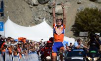Gesink Wins Stage Seven and Yellow Jersey in Tour of California