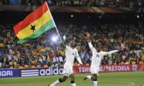 Asamoah Converts Penalty as Ghana Edge Serbia in World Cup Group D