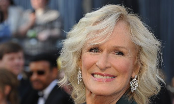 Actress Glenn Close arrives for the 84th Annual Academy Awards on Feb. 26, 2012, in Hollywood, Calif. Close, also known for her mental health advocacy, will be a keynote speaker at an international conference on reducing stigma surrounding mental illness to be held in Ottawa in June. (Joe Klamar/AFP/Getty Images)