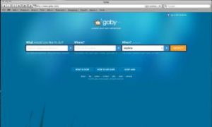 Goby.com Helps to 'Create Your Own Adventure'