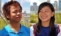 Cricket an Unlikely Passion for Li Siblings