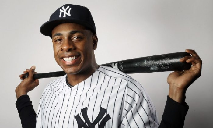 Curtis Granderson will be out until May. (Elsa/Getty Images)