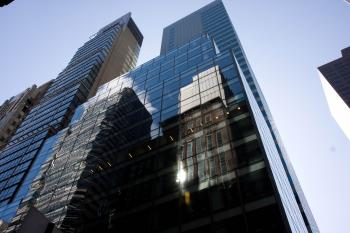 GOING FOR GOLD: The building at 545 Madison Ave. is in line for a gold LEED certification. A new report finds that costs for LEED certification are 'insignificant' compared to other factors influencing construction costs. (Jasper Fakkert/The Epoch Times )