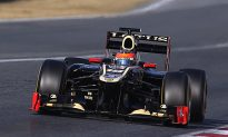 Lotus Fastest on Day One of Final Pre-Season F1 Test