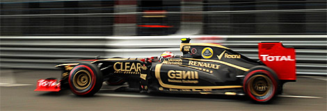 Lotus F1's Romain Grosjean qualified fifth and will start fourth. (Tom Gandolfini/AFP/GettyImages)