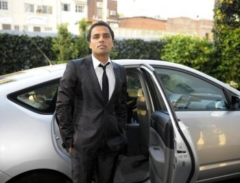 Gurbaksh Chahal attends the Fox Fall Eco-Casino party in West Hollywood in 2008. Chahal was recently given an honorary Pace University doctorate for his work in computer programming. (Charley Gallay/Getty Images for Fox)