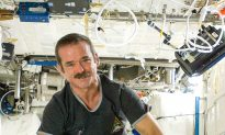Hadfield Takes Over as ISS Commander