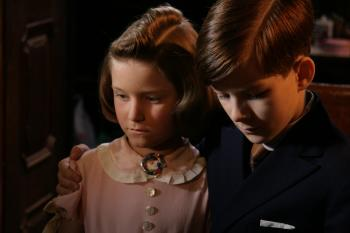 George and Hana Brady in December 1938. (Alliance Films)