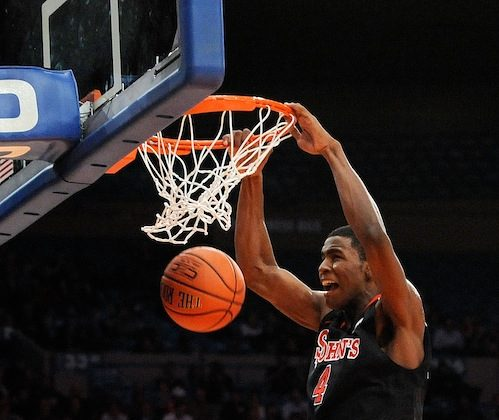 Moe Harkless is second among freshmen players in the Big East with an average of 8.8 rebounds per game. (Patrick McDermott/Getty Images)