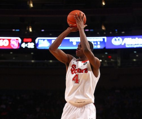 Moe Harkless won his second Big East Rookie of the Week honor. (Chris Chambers/Getty Images)