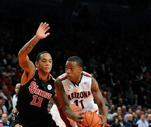 Harrison (L) leads all Big East freshmen in scoring. (Patrick McDermott/Getty Images)