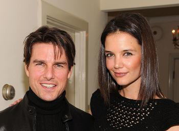 Katie Holmes and Tom Cruise (Frazer Harrison/Getty Images)