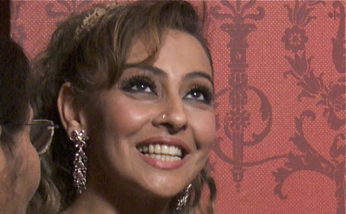 Honey Kalaria, Bollywood Ambassador to the UK, attends Shen Yun Performing Arts in London. (Courtesy of NTD Television)