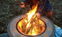 How To Build a Fire: A Photo Guide for the City Dweller